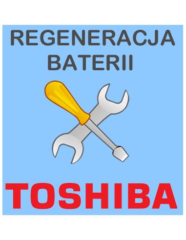 Regeneracja baterii do laptopa Toshiba