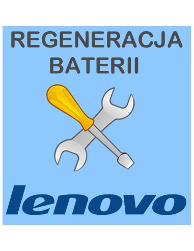 Regeneracja baterii do laptopa Lenovo