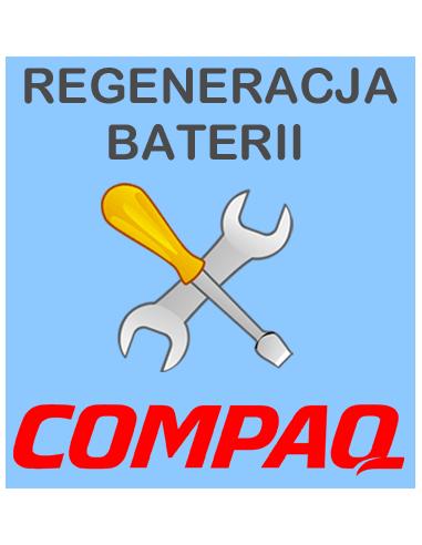 Regeneracja baterii do laptopa COMPAQ