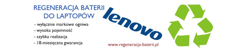 Regeneracja baterii do notebooków Lenovo