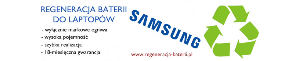Regeneracja baterii w laptopach Samsung