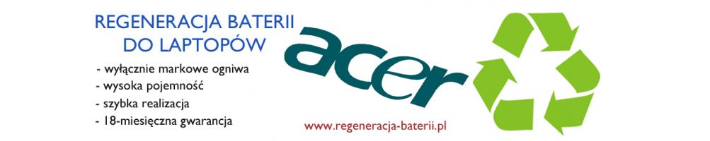 Regeneracja baterii do laptopów Acer